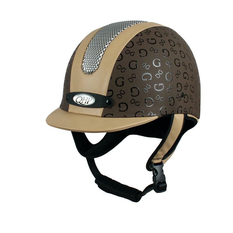 paardrij_cap_qhp_premium_rider_beige_bruin
