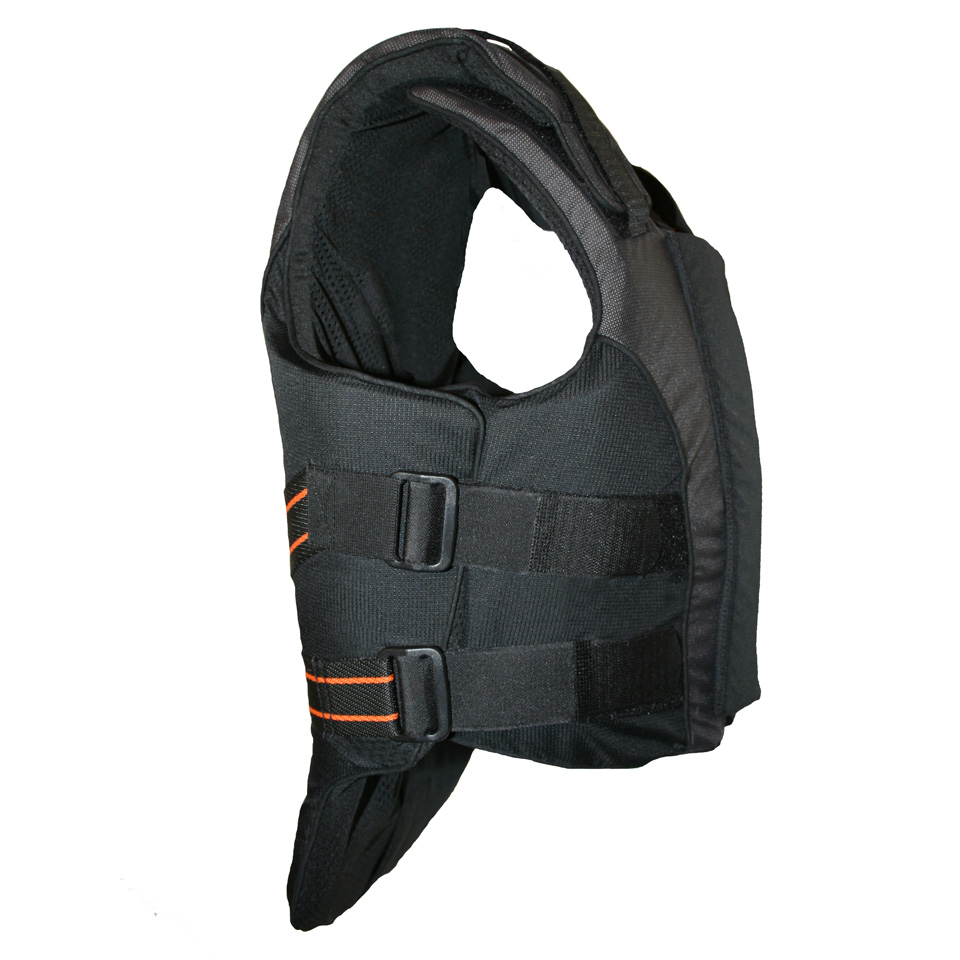 De bodyprotector voor paardrijden van