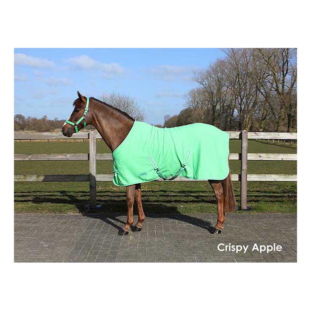 Deken Fleece Color Met Singels Crispy Apple qhp-6121-crispyapple