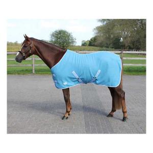 Deken Fleece Color Met Singels Sky qhp-6121-sk