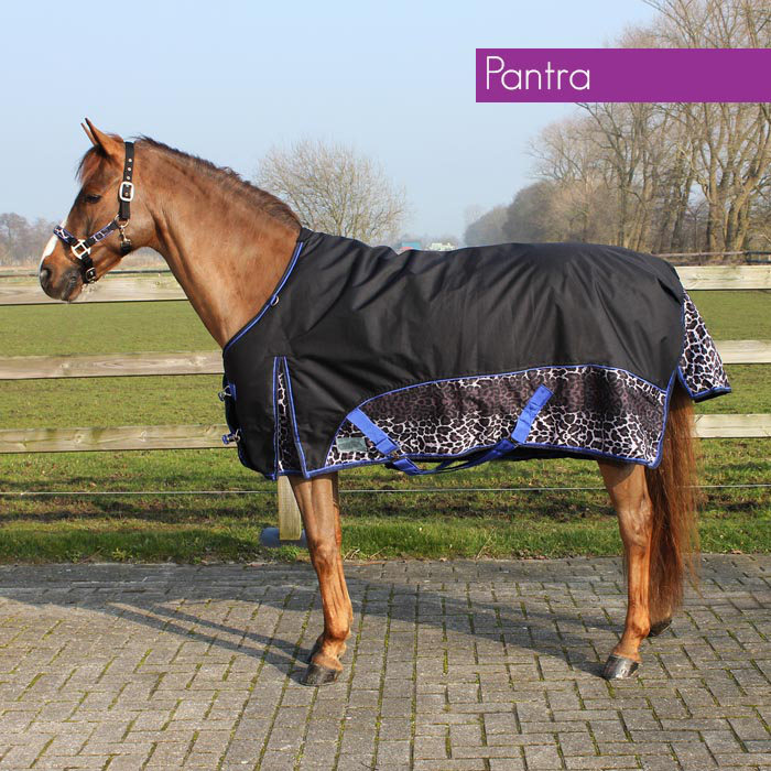 Deken Turnout Luxe Fleece Pantra qhp-6094-pantra