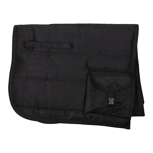Puff Pad Met Tasje Zwart qhp-3060-zw