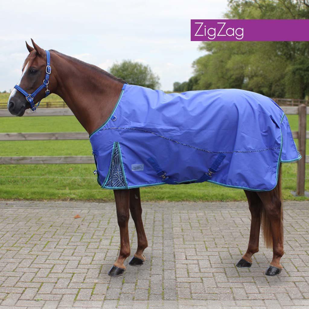 QHP Deken Regen Luxe 0Gr Zigzag 6058