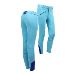 Rijbroek Junior Turquoise qhp-8047-tu