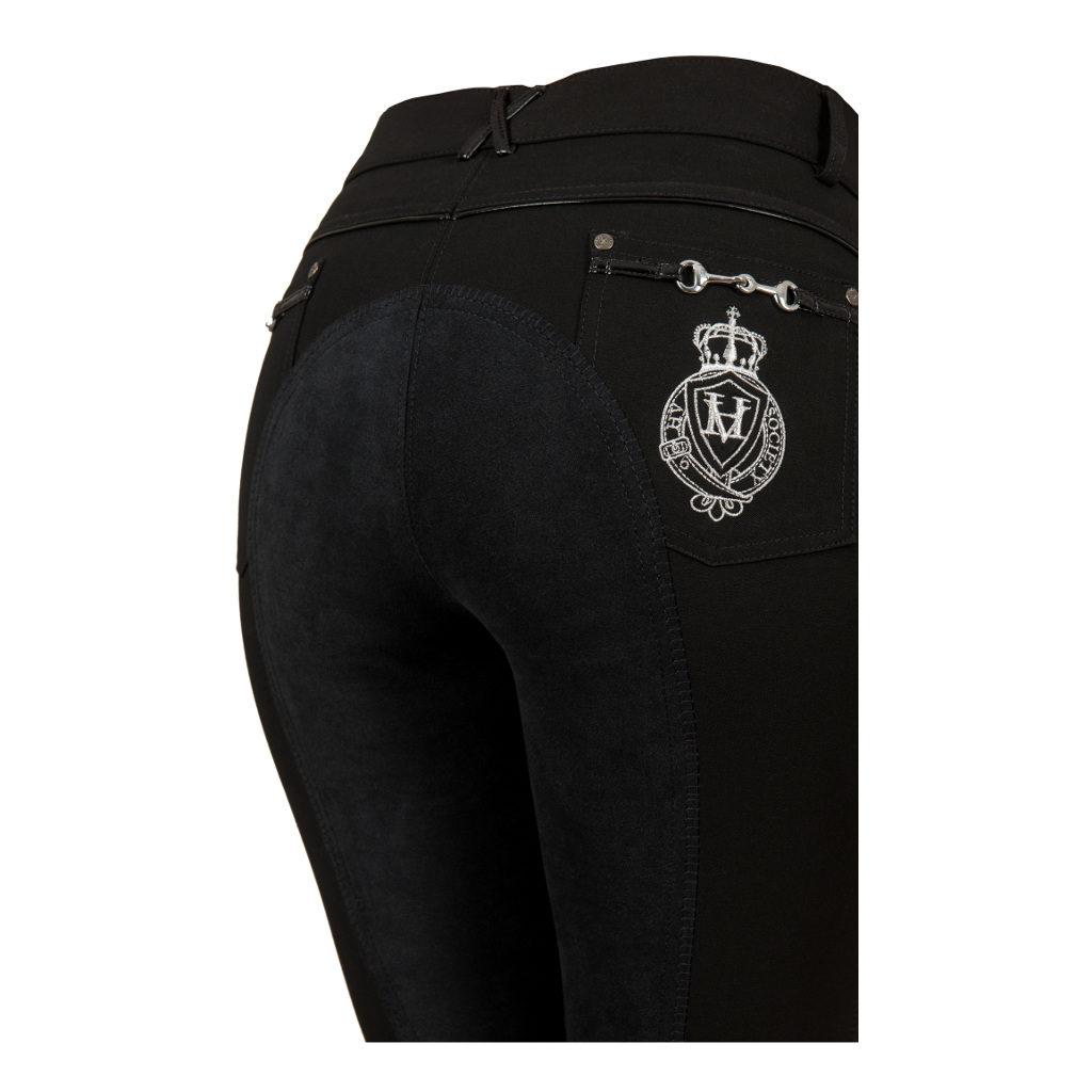 Rijbroek Tiago FS Black 0201092714-BLACK-DETAIL