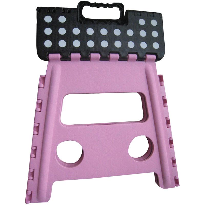 Toiletteer Krukje Inklapbaar Pink-Black