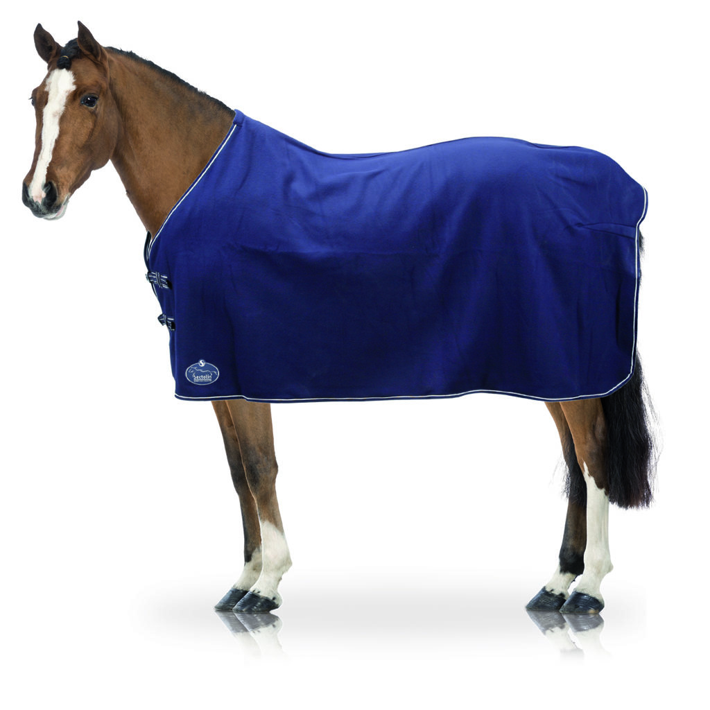 Economic Fleece Deken zonder hals Navy 61010