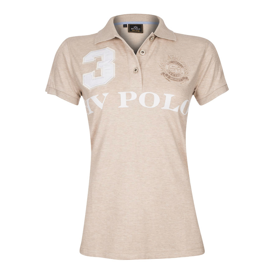 Polo Shirt Favouritas Eques Sand Melange