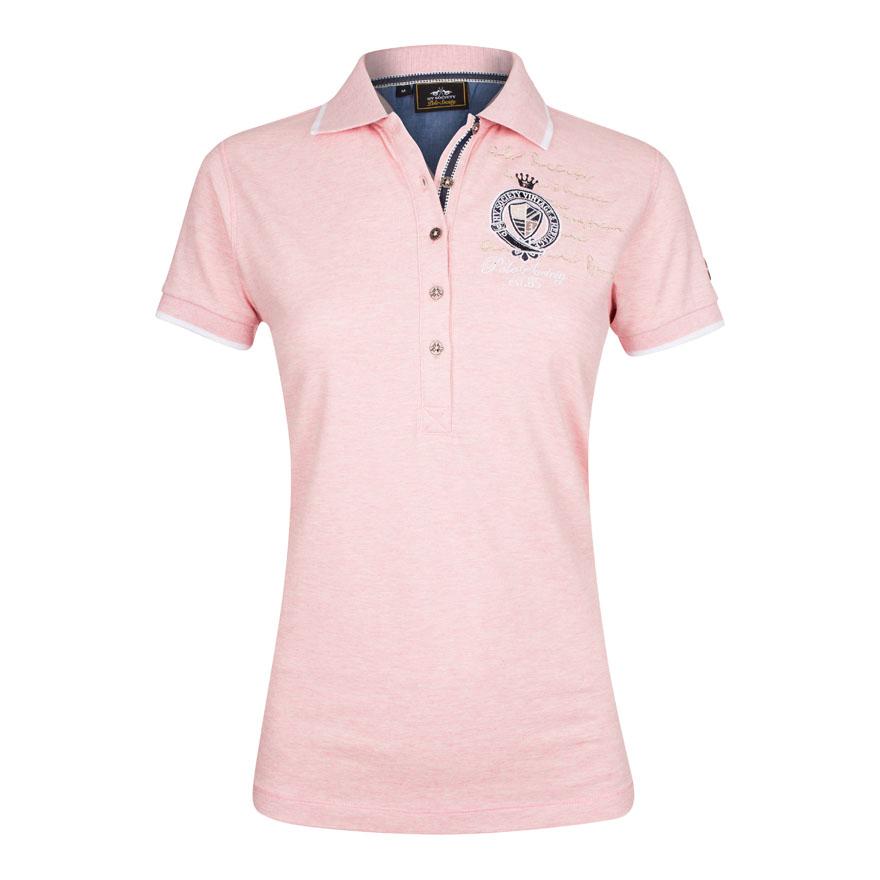 Polo Shirt Parker Blush Melange