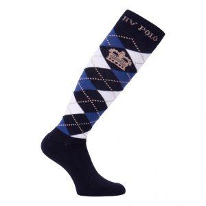 Socks Argyle Navy-Inkblue
