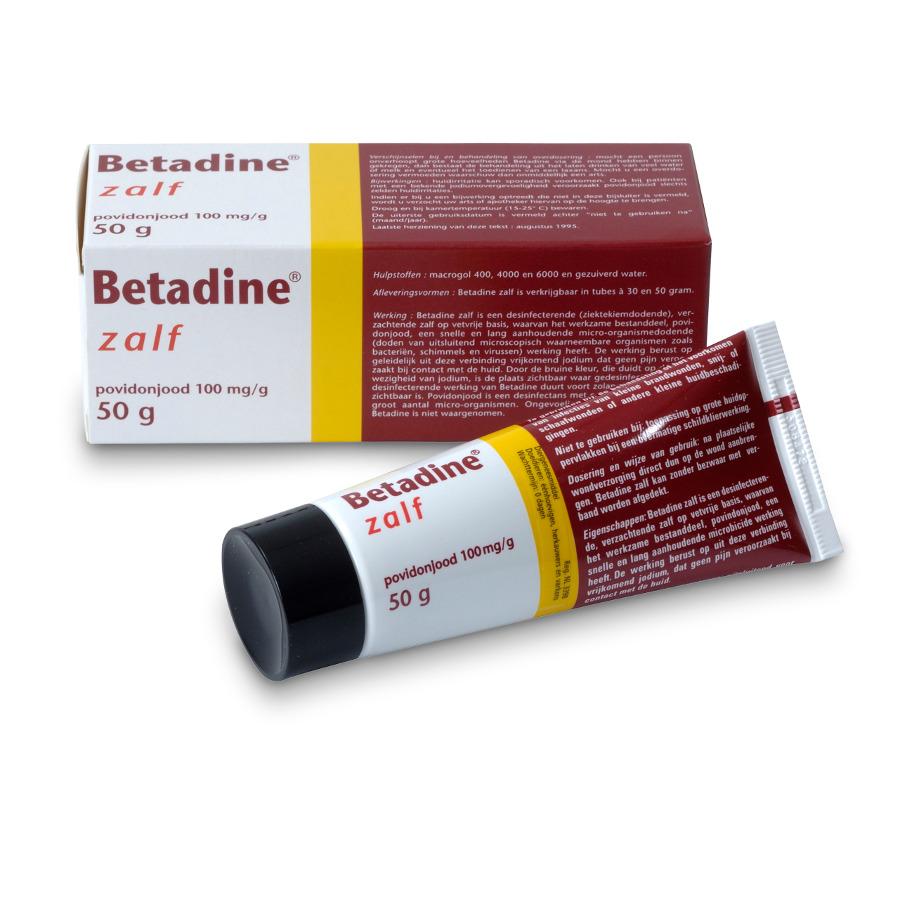 Betadine Zalf 50 Gr