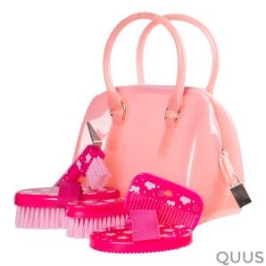 Poetssetje In Tasje Fashion Flower Pink