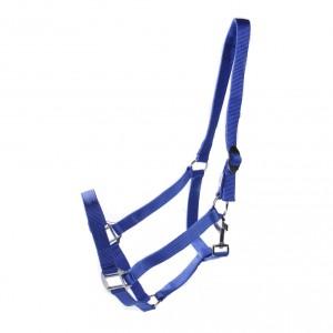 halster nylon blauw