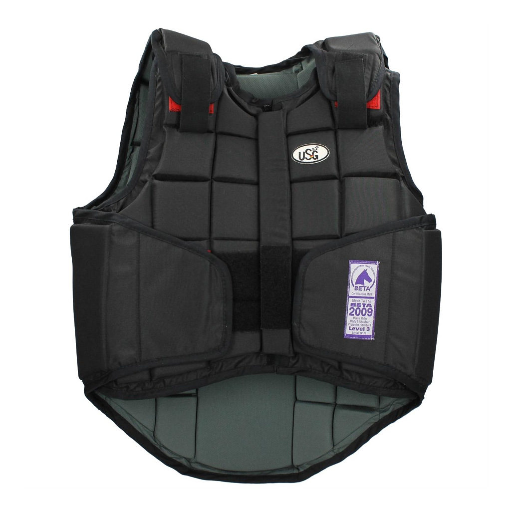 usg bodyprotector flexi zwart 13000001