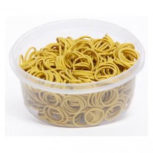 horsepoint elastiekjes in bakje 100gram geel 8600001