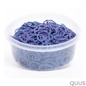 horsepoint elastiekjes in bakje 100gram lila 86000011