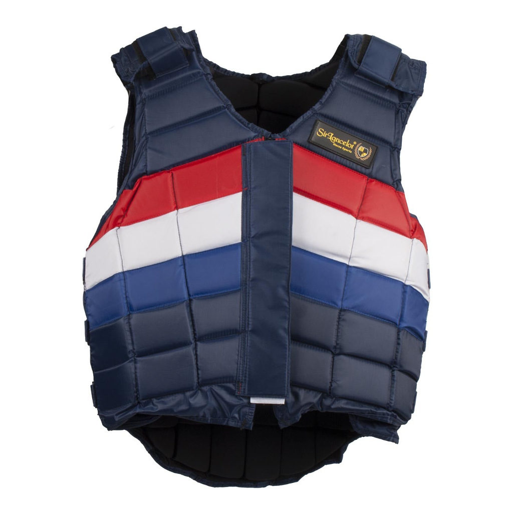 Bodyprotector Rood Wit Blauw Sir Lancelot