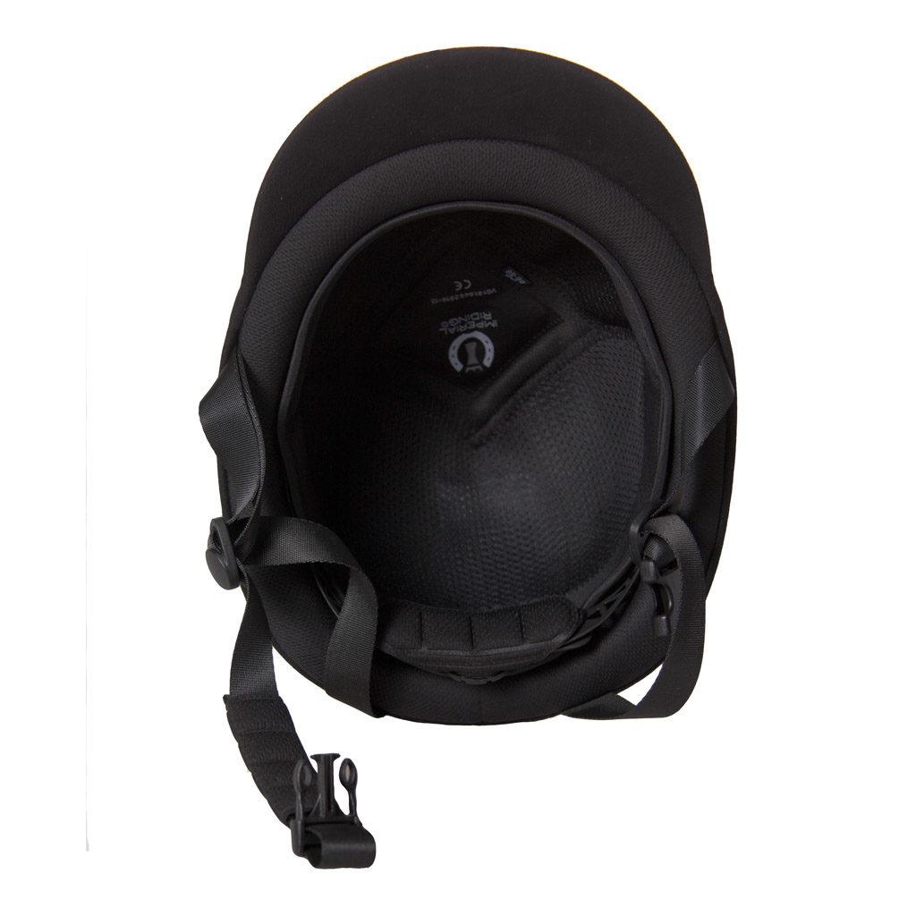 Imperial Riding Paardrijcap verstelbaar Classic zwart kl13316001 binnenkant