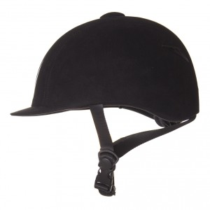 Imperial Riding Paardrijhelm Classic zwart kl13316001 zijkant