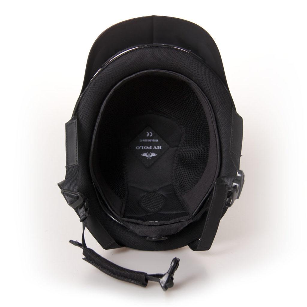 HV Polo verstelbare paardrijcap Langley 1001092801 zwart