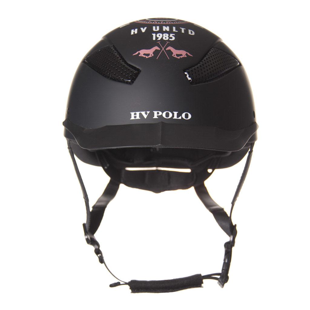 HV Polo veiligheidscap MCLennan zwart 1001092802 vooraanzicht