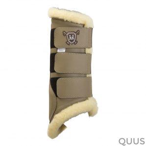 hv polo peesbeschermers tendon_boots_ladysmith_teak_cob_size_1