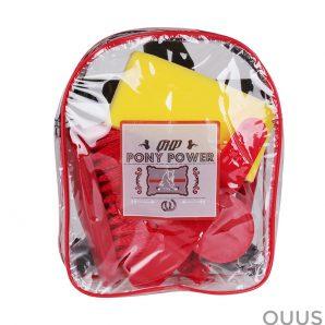 QHP Pony Power poetstas rood