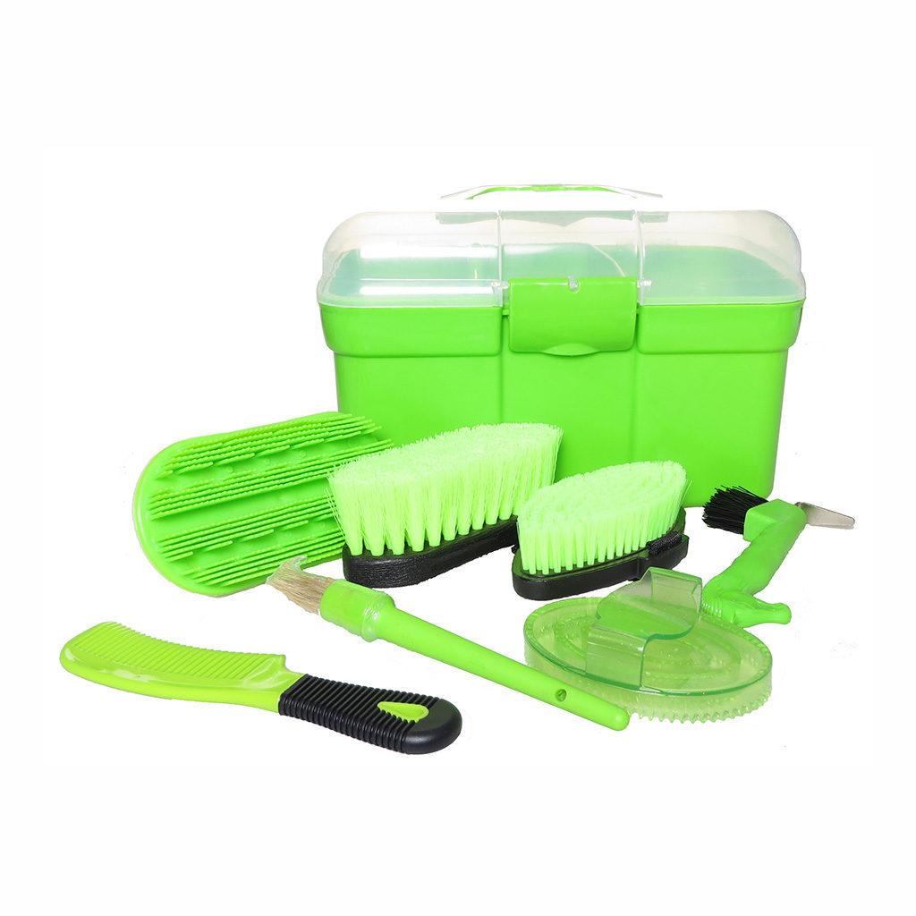 HB-poetskoffer-groen-gevuld