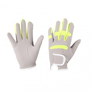 qhp handschoen mulit color zand lime7006zali