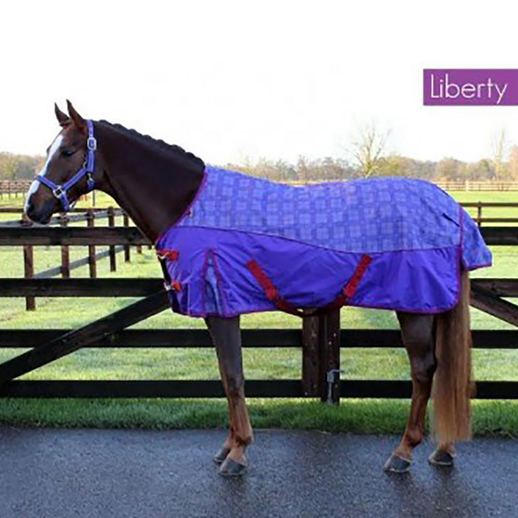 qhp turnout rug luxury liberty