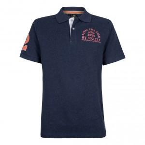 HV Polo polo shirt harlem denim melange