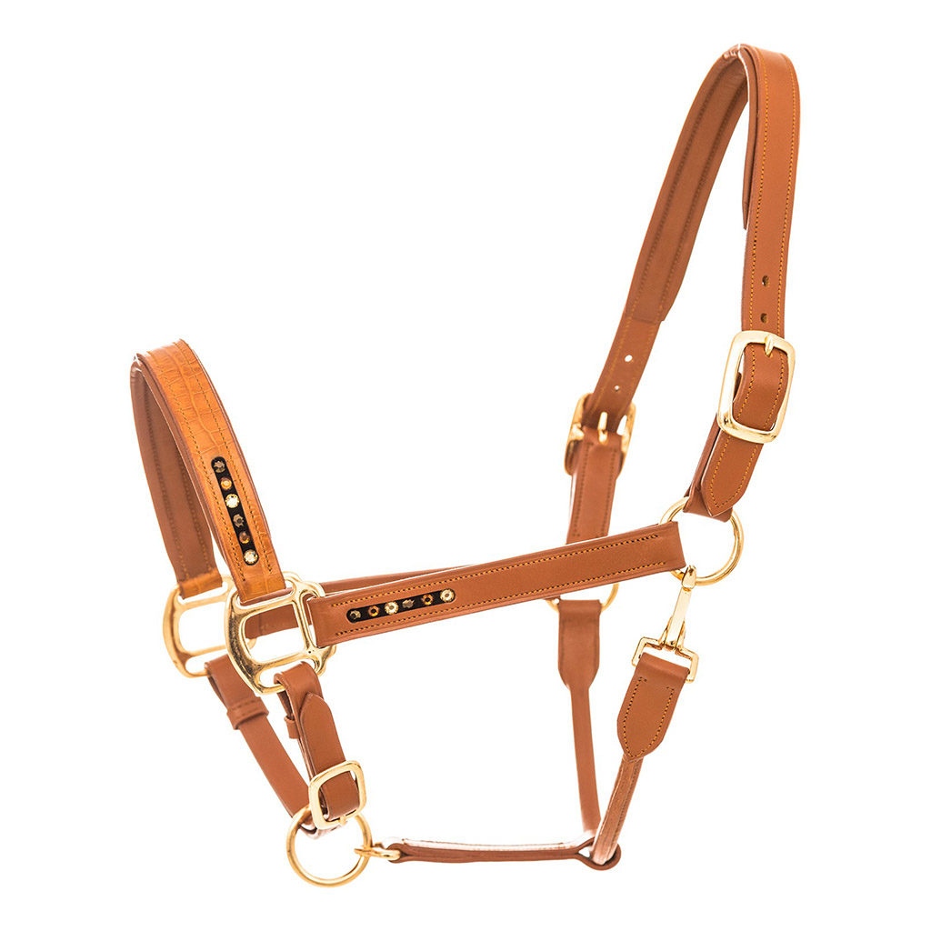 imperial riding halster leer cognac ha23116000-brco