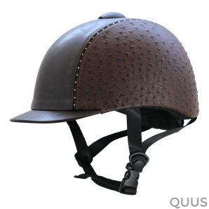imperial riding paardrijcap rijhelm_chester_ostrich_brown_l (1)