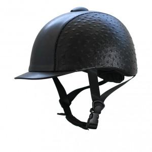 imperial riding paardrijcap zwart rijhelm_chester_ostrich_black_l