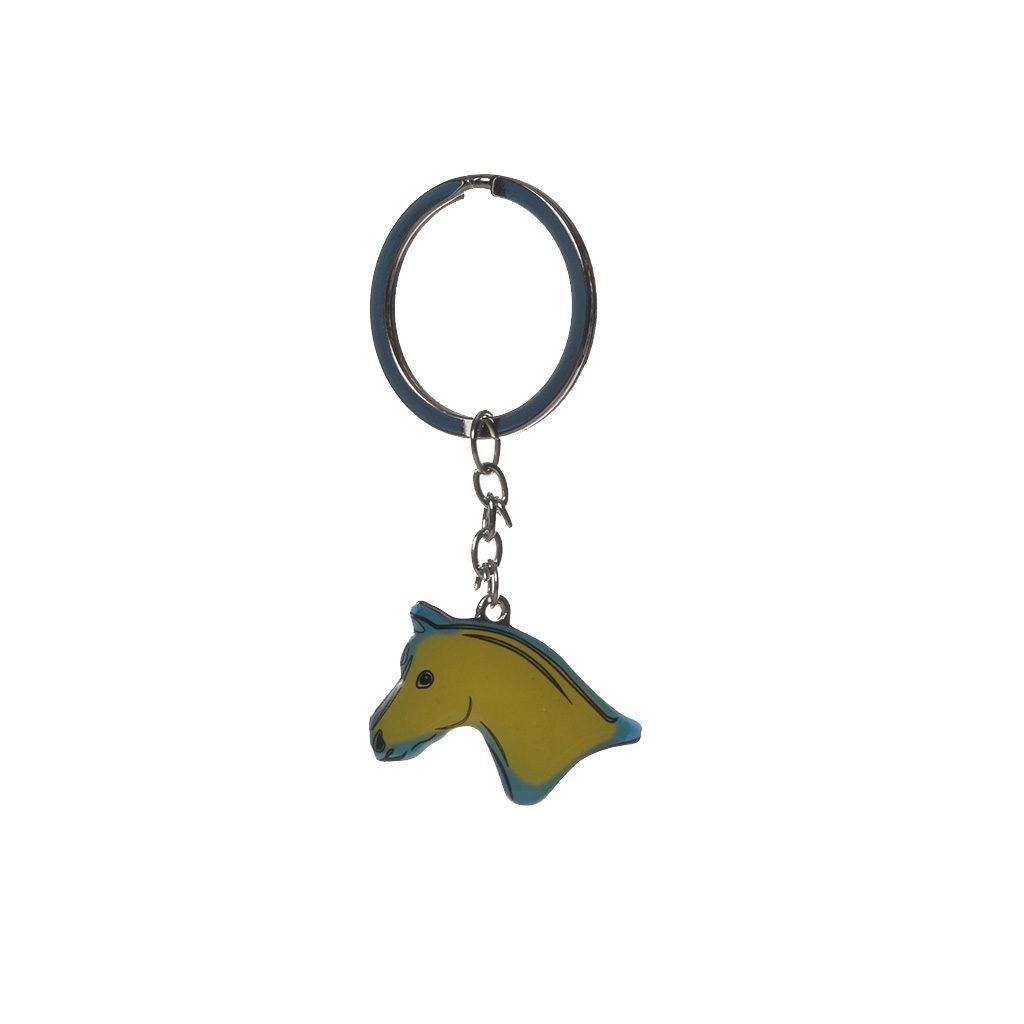 sleutelhanger met paardenhoofd