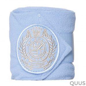 hv polo bandages fleece breeze baby blauw