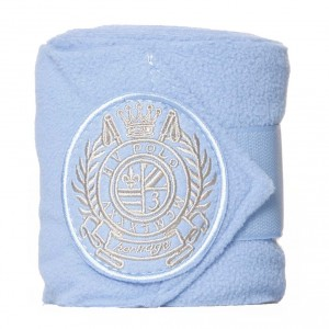 hv polo bandages fleece breeze baby blauw