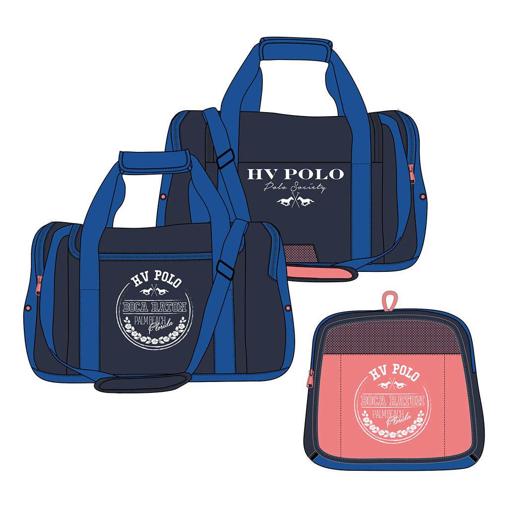 hv polo sportsbag navy opvouwbaar