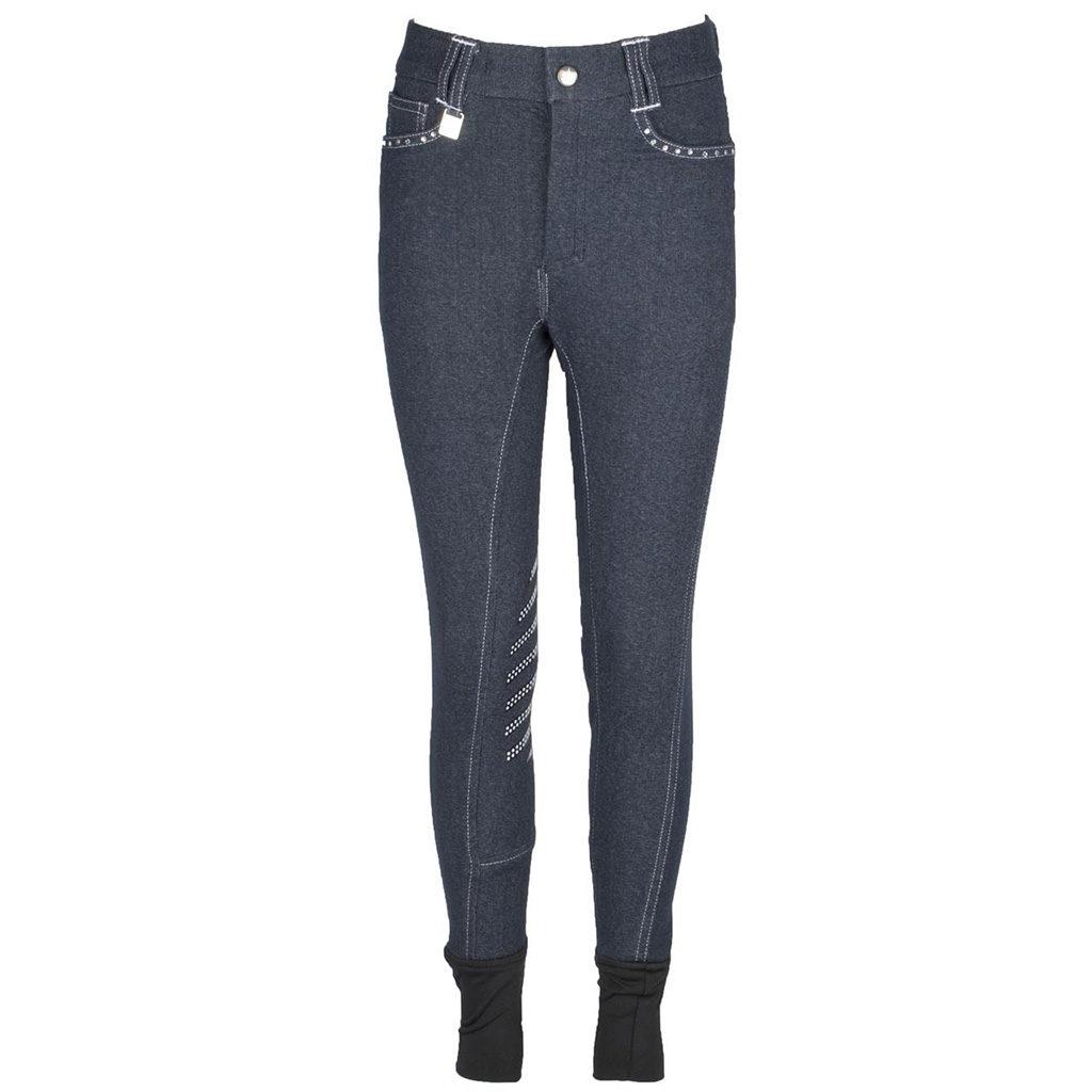 Rijbroek Ice Jr. Knee Sil Jeans La Valencio lava-172.3227je