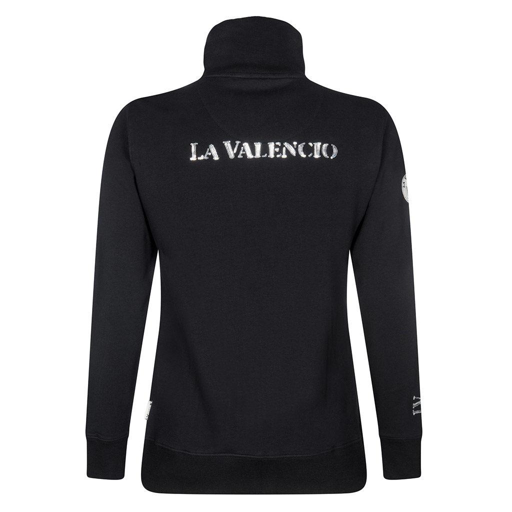 Vest Idris Jr Zwart La Valencio lava-172.3136zw-achteraanzicht