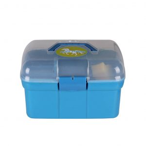 QHP poetskoffer Pony Powersky (licht blauw)