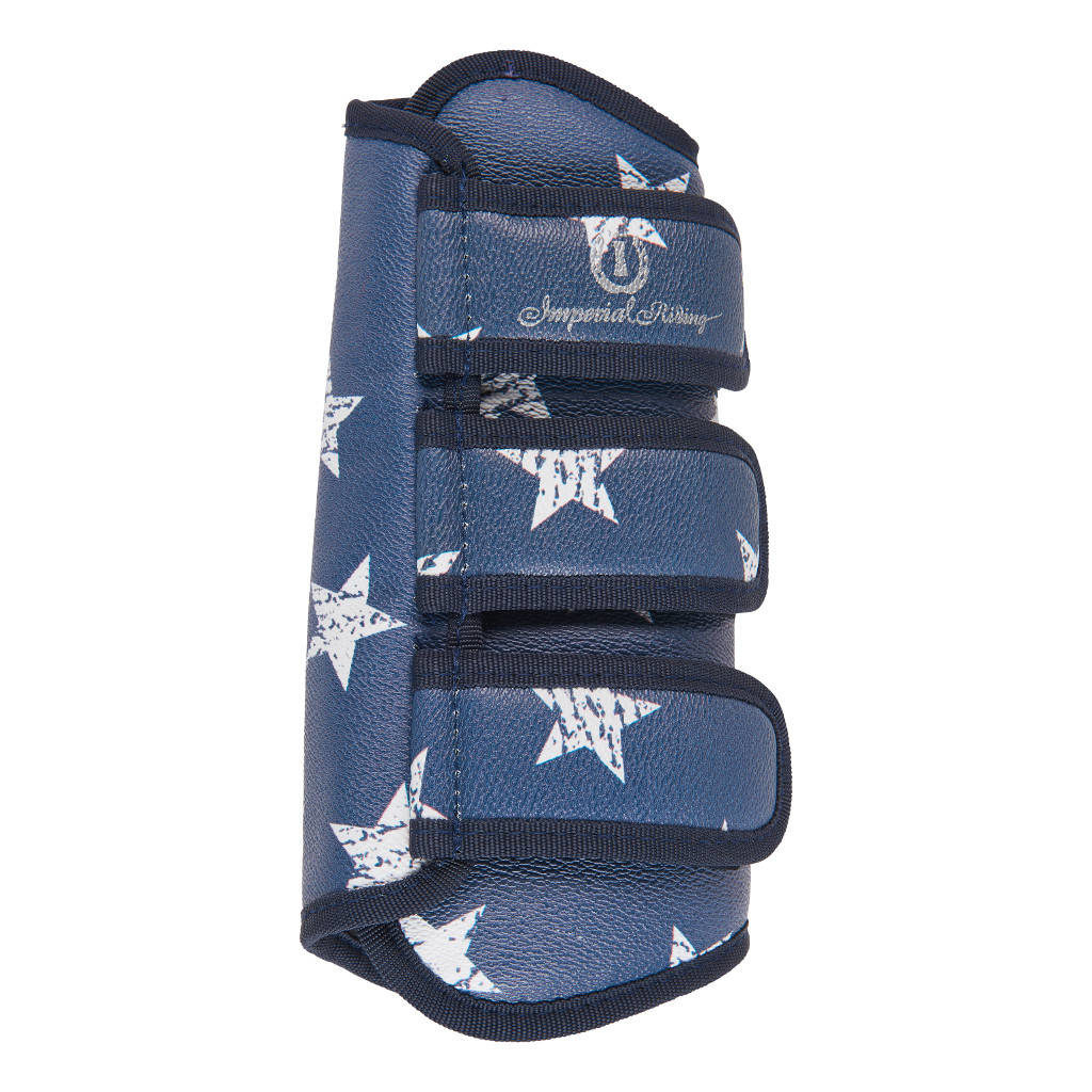 Dressuur Peesbeschermers Love Your Life Pattern Navy Star Imperial Riding Impe-Be10118001-Navsta