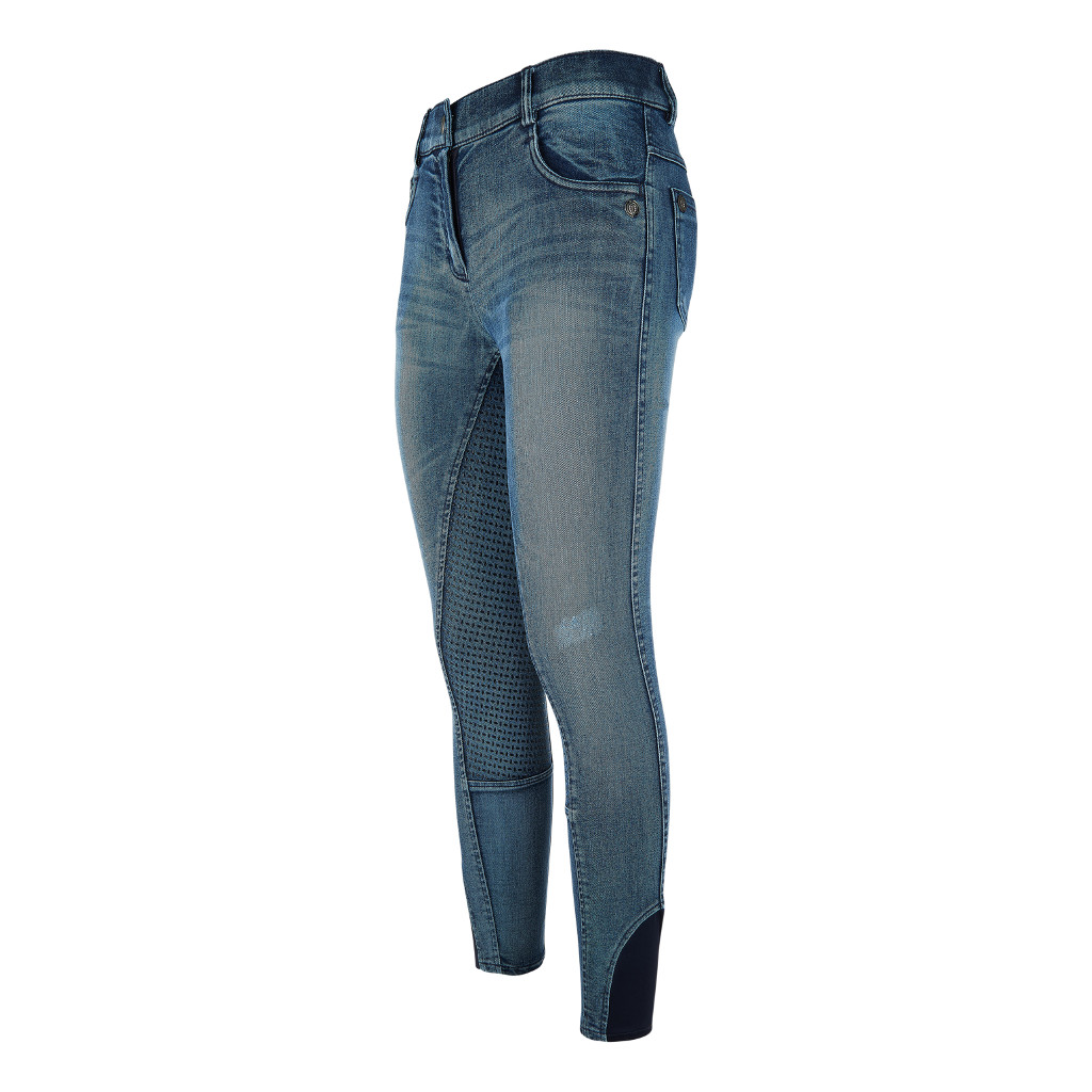 Rijbroek Base Sfs Denim Washed Imperial Riding Imperial Riding Impe-Kl44417002-Denwh