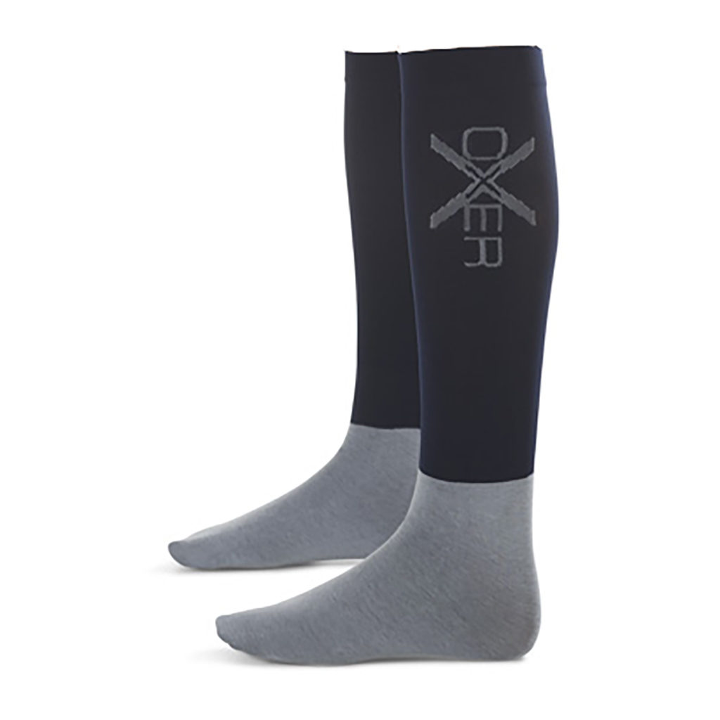 Oxer-sokken donker blauw