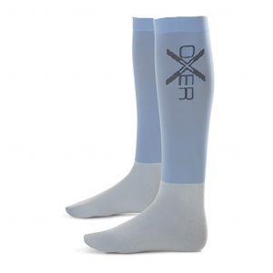 Oxer-sokken licht blauw