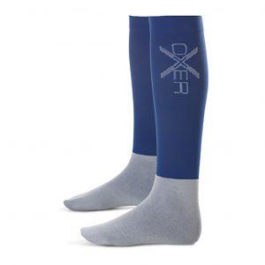 Oxer-sokken marine