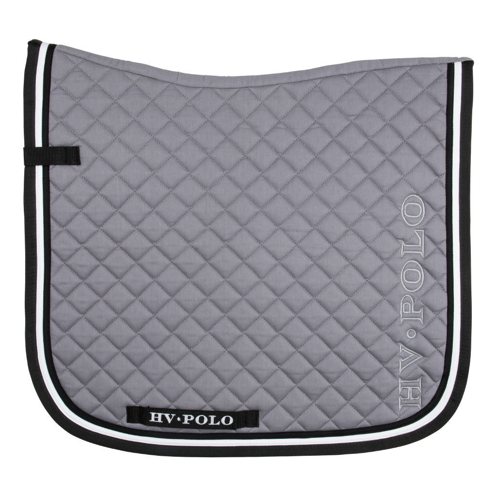 Saddlepad Geri VZ Grey Full Size Hv Polo 0802093009-Grey