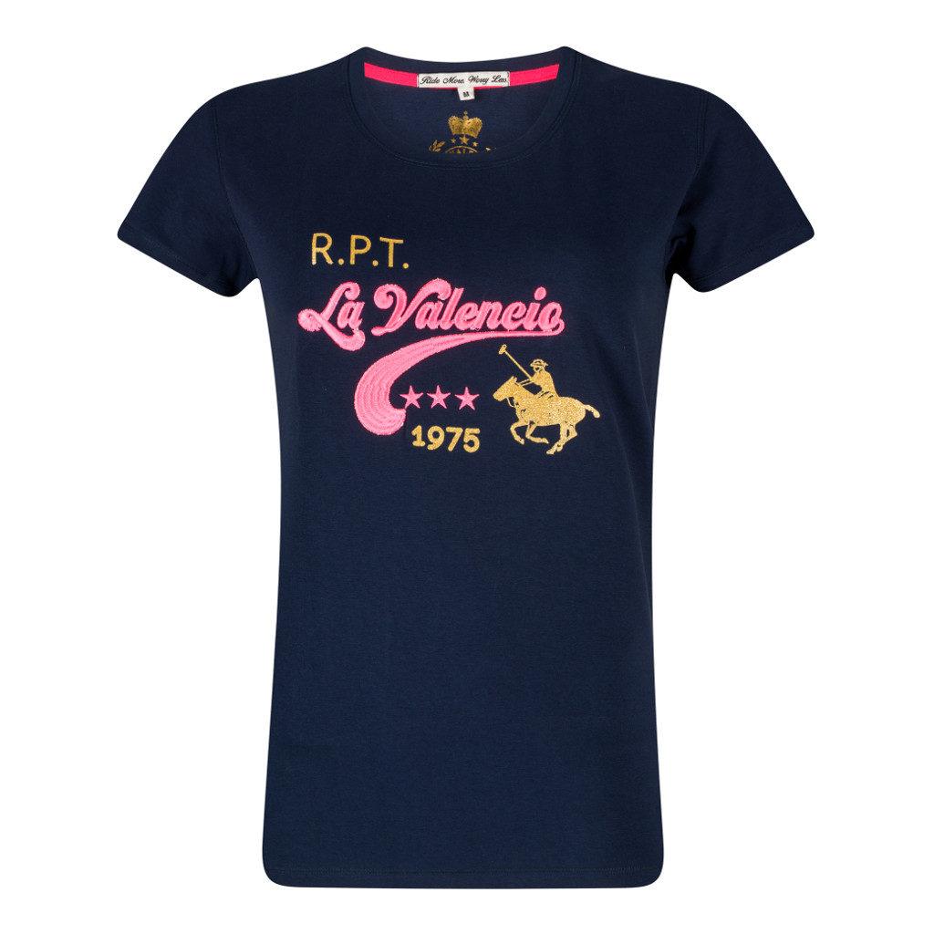 Top Jill Jr. Navy La Valencio voorkant Lava-181.3151Na