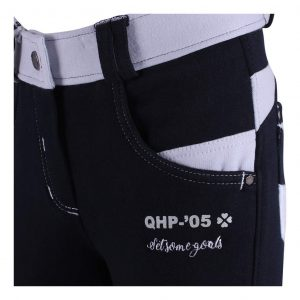 Rijbroek Joan Junior Anti-Slip Zitvlak Navy QHP
