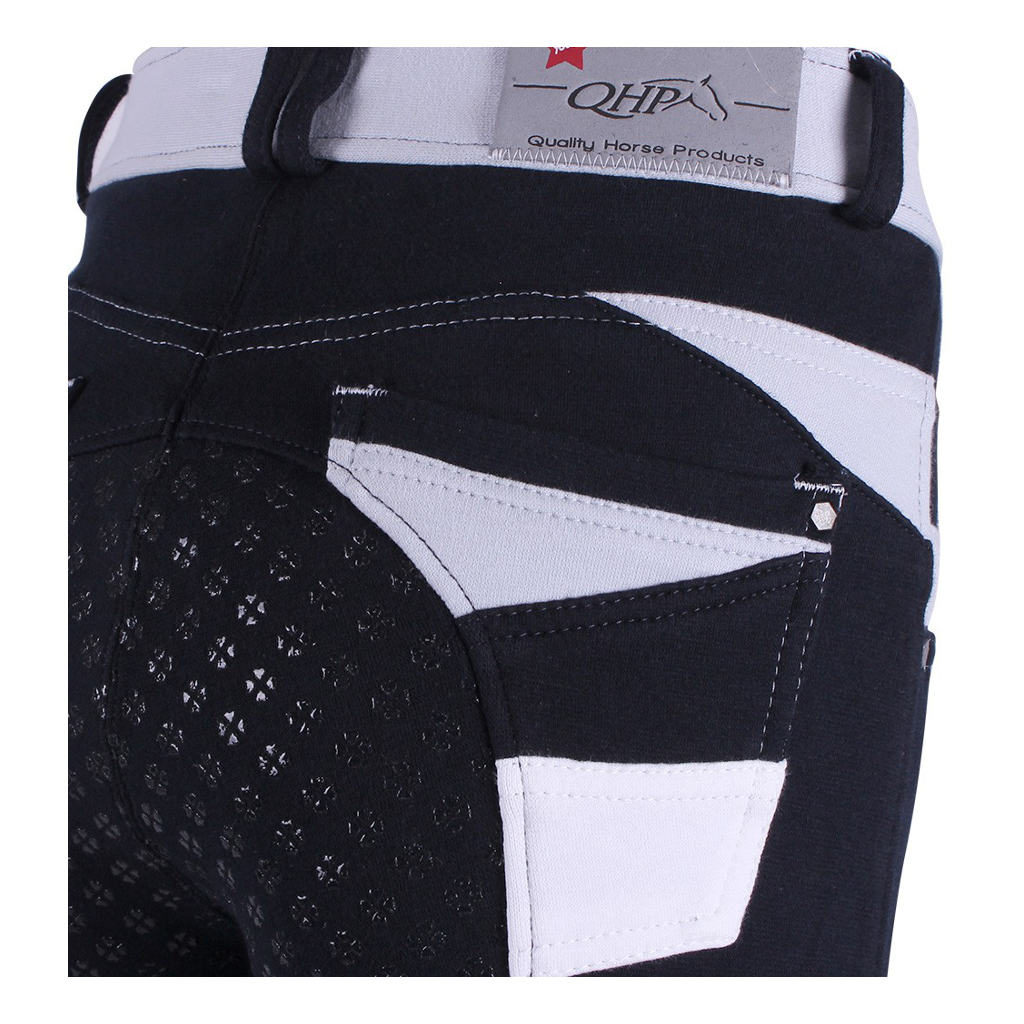 Rijbroek Joan Junior Anti-Slip Zitvlak Navy QHP